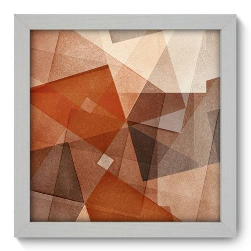 Quadro Decorativo - Abstrato - 22cm X 22cm - 023qnaab