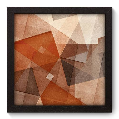 Quadro Decorativo - Abstrato - 22cm X 22cm - 023qnaap