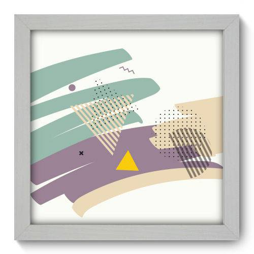 Quadro Decorativo - Abstrato - 22cm X 22cm - 105qnaab