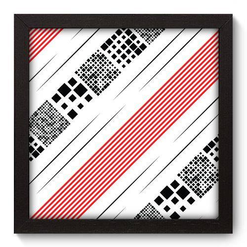 Quadro Decorativo - Abstrato - 22cm X 22cm - 114qnaap