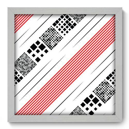 Quadro Decorativo - Abstrato - 33cm X 33cm - 114qnabb