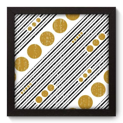 Quadro Decorativo - Abstrato - 22cm X 22cm - 117qnaap