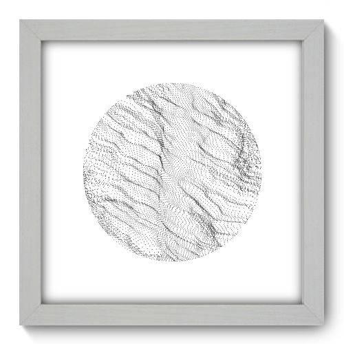 Quadro Decorativo - Abstrato - 22cm X 22cm - 148qnaab