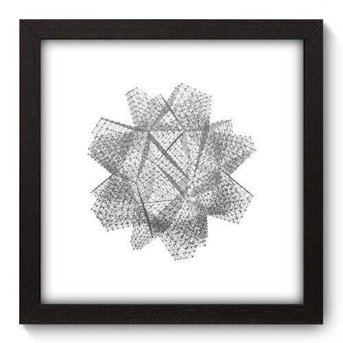 Quadro Decorativo - Abstrato - 22cm X 22cm - 142qnaap