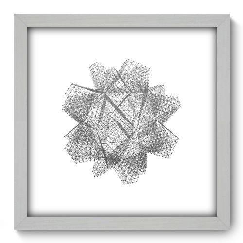 Quadro Decorativo - Abstrato - 33cm X 33cm - 142qnabb