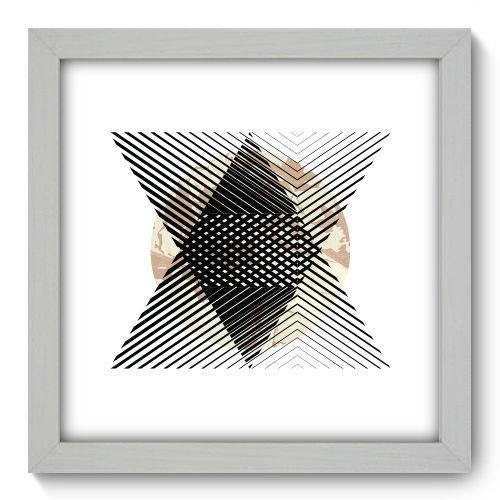 Quadro Decorativo - Abstrato - 22cm X 22cm - 159qnaab