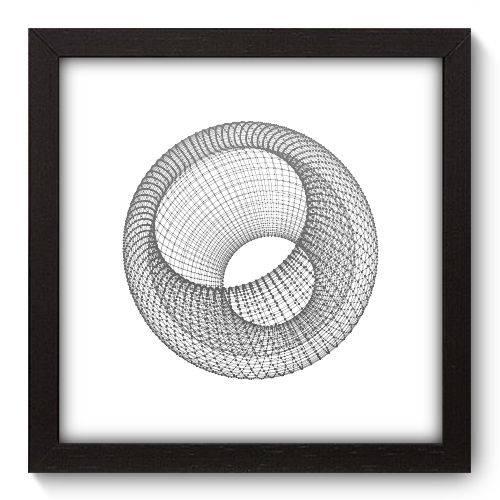 Quadro Decorativo - Abstrato - 22cm X 22cm - 137qnaap