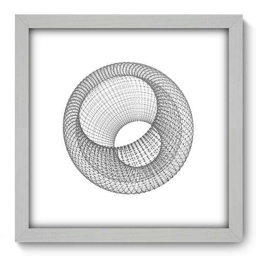 Quadro Decorativo - Abstrato - 33cm X 33cm - 137qnabb