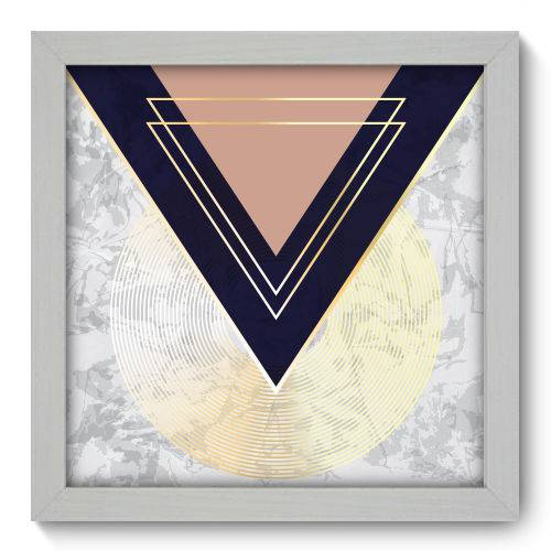 Quadro Decorativo - Abstrato - 22cm X 22cm - 180qnaab