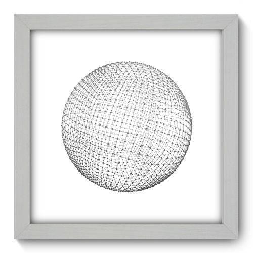 Quadro Decorativo - Abstrato - 22cm X 22cm - 139qnaab
