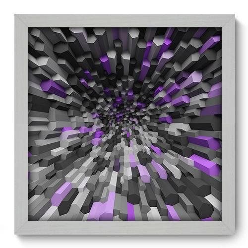 Quadro Decorativo - Abstrato - N2022 - 33cm X 33cm