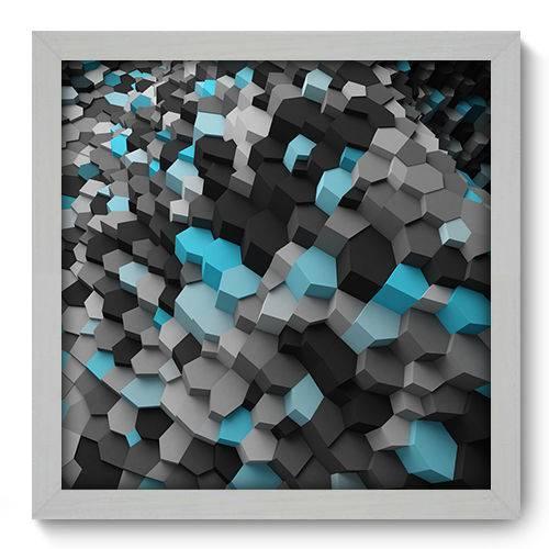 Quadro Decorativo - Abstrato - N2020 - 33cm X 33cm