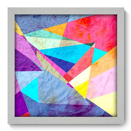 Quadro Decorativo - Abstrato - N2030 - 33cm X 33cm