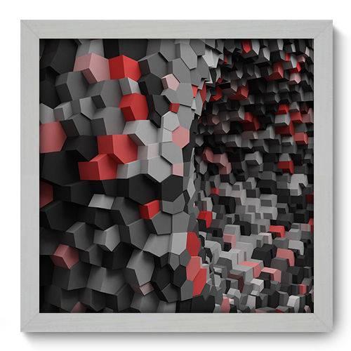 Quadro Decorativo - Abstrato - N2021 - 33cm X 33cm