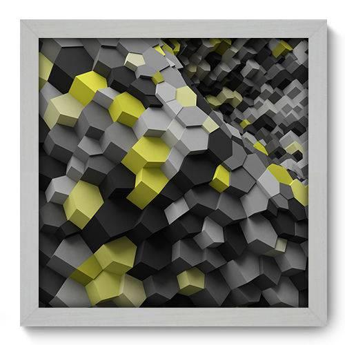 Quadro Decorativo - Abstrato - N2018 - 33cm X 33cm