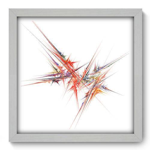 Quadro Decorativo - Abstrato - N2043 - 33cm X 33cm