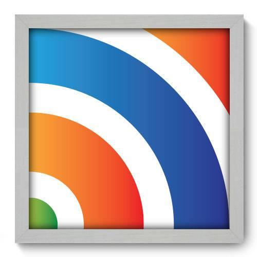 Quadro Decorativo - Abstrato - N2056 - 33cm X 33cm