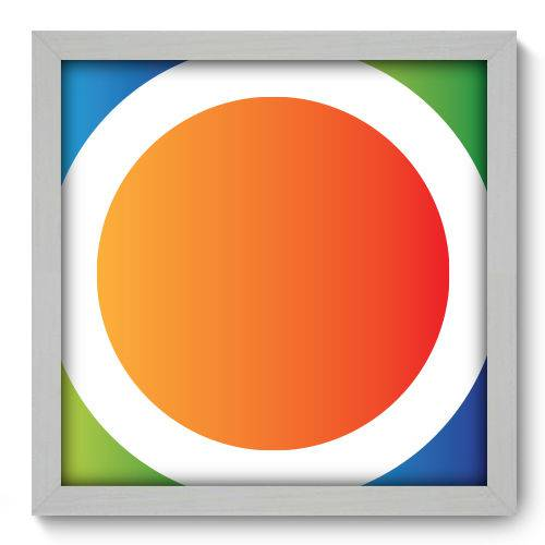 Quadro Decorativo - Abstrato - N2057 - 33cm X 33cm