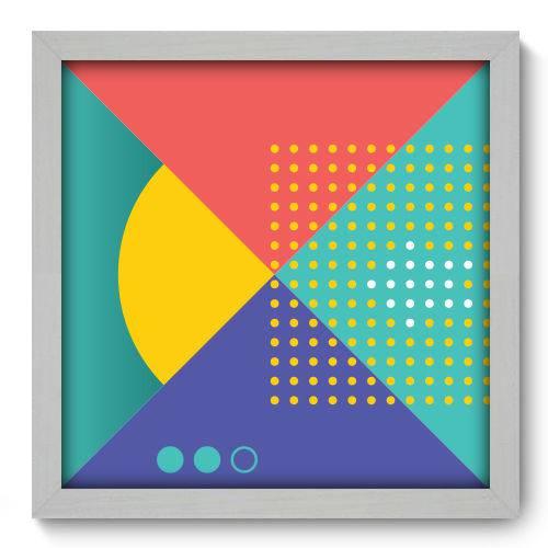Quadro Decorativo - Abstrato - N2060 - 33cm X 33cm
