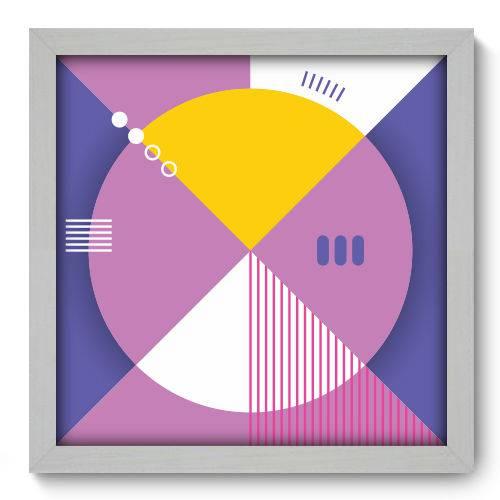 Quadro Decorativo - Abstrato - N2061 - 33cm X 33cm