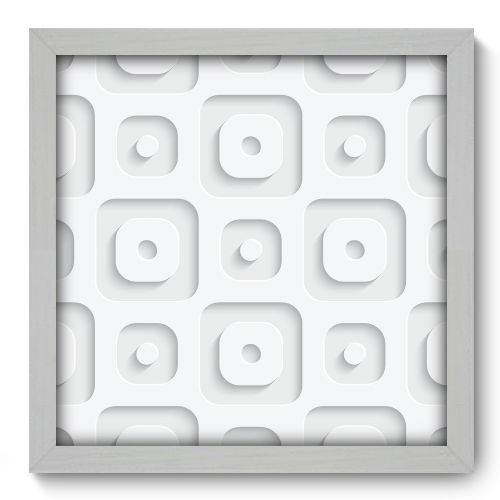 Quadro Decorativo - Abstrato - N2069 - 33cm X 33cm