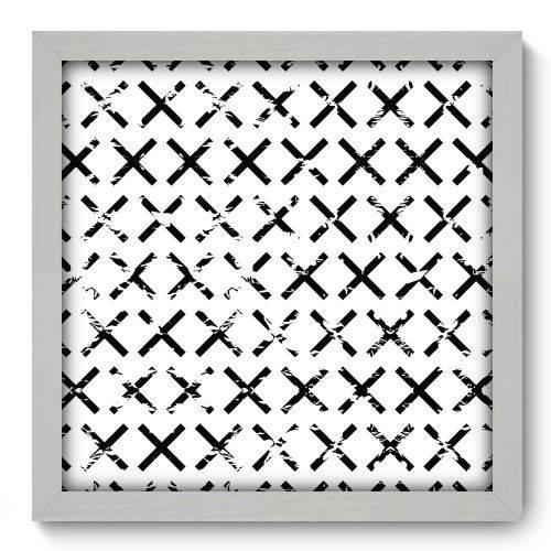 Quadro Decorativo - Abstrato - N2072 - 33cm X 33cm