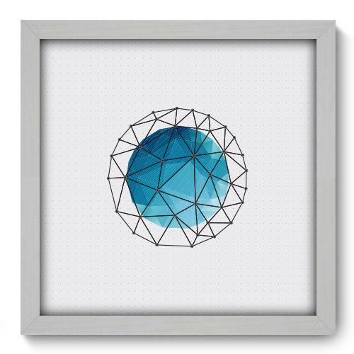 Quadro Decorativo - Abstrato - N2090 - 33cm X 33cm