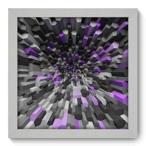 Quadro Decorativo - Abstrato - N1022 - 22cm X 22cm