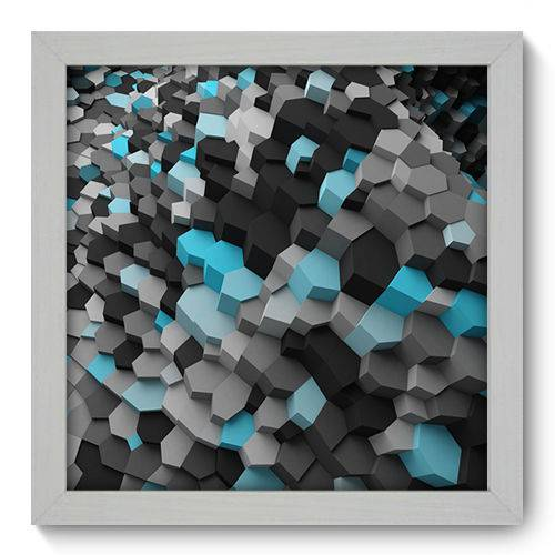 Quadro Decorativo - Abstrato - N1020 - 22cm X 22cm