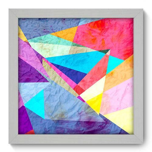 Quadro Decorativo - Abstrato - N1030 - 22cm X 22cm