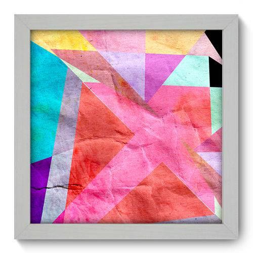 Quadro Decorativo - Abstrato - N1031 - 22cm X 22cm