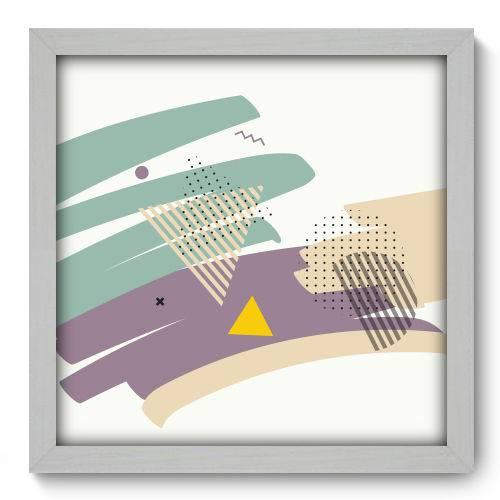 Quadro Decorativo - Abstrato - N2105 - 33cm X 33cm