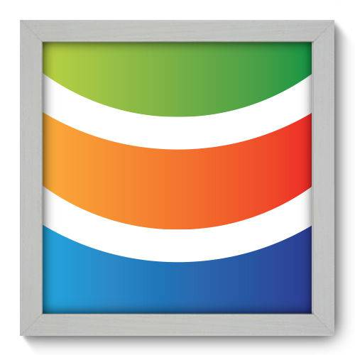 Quadro Decorativo - Abstrato - N1054 - 22cm X 22cm