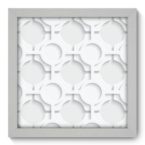 Quadro Decorativo - Abstrato - N1068 - 22cm X 22cm