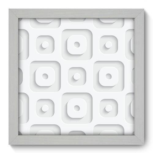 Quadro Decorativo - Abstrato - N1069 - 22cm X 22cm