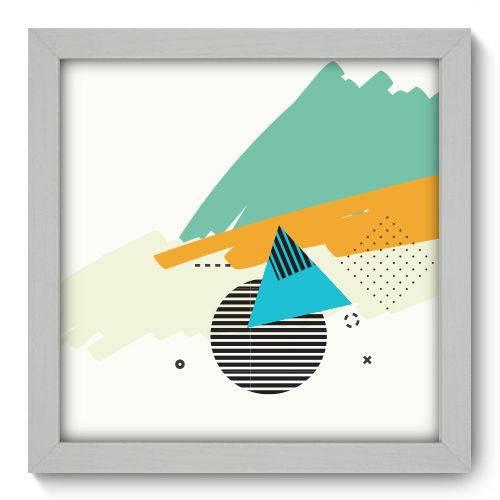 Quadro Decorativo - Abstrato - N1104 - 22cm X 22cm