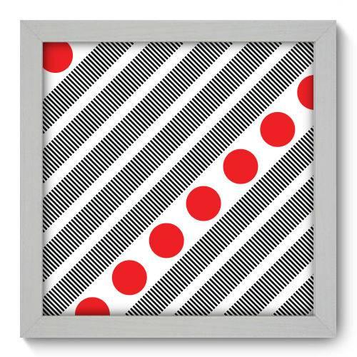 Quadro Decorativo - Abstrato - N1115 - 22cm X 22cm