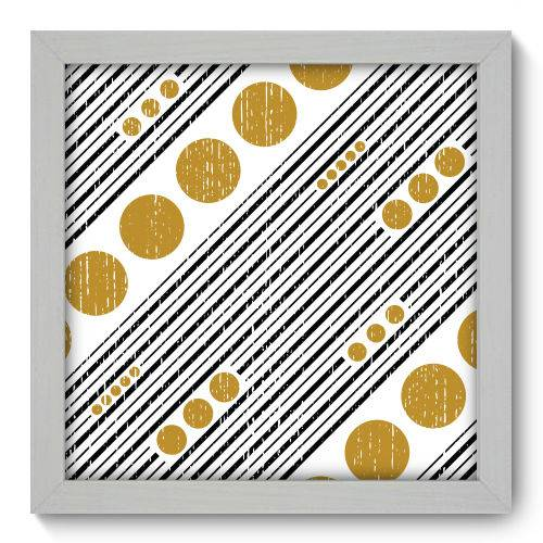 Quadro Decorativo - Abstrato - N1117 - 22cm X 22cm
