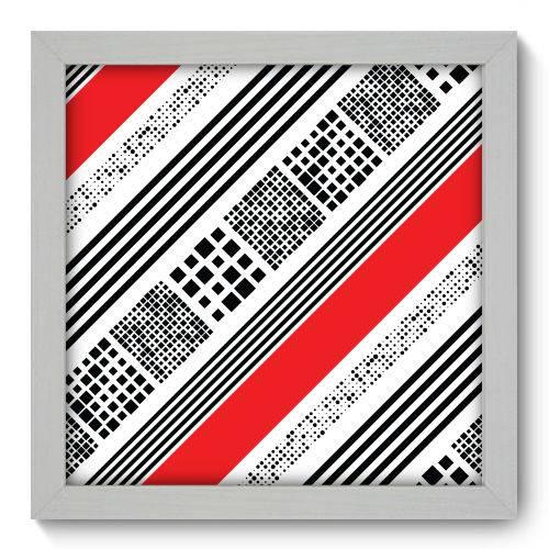 Quadro Decorativo - Abstrato - N1118 - 22cm X 22cm