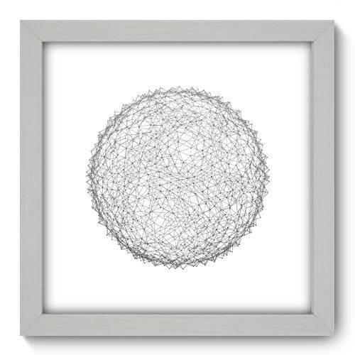 Quadro Decorativo - Abstrato - N1140 - 22cm X 22cm