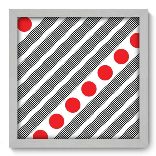 Quadro Decorativo - Abstrato - N2115 - 33cm X 33cm