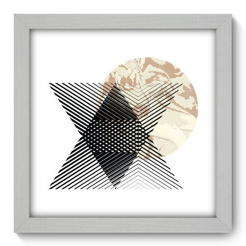 Quadro Decorativo - Abstrato - N1158 - 22cm X 22cm