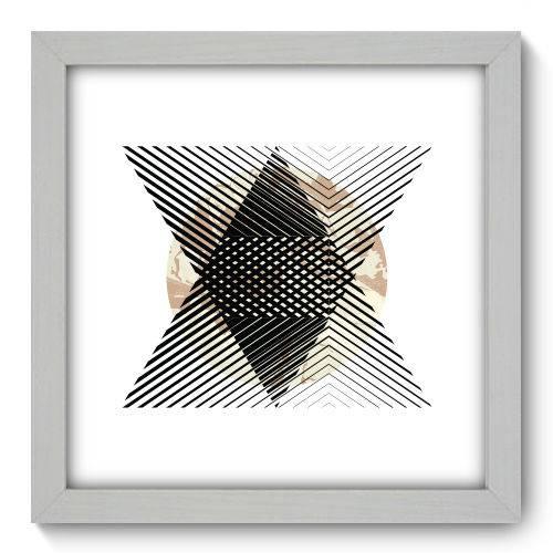 Quadro Decorativo - Abstrato - N1159 - 22cm X 22cm