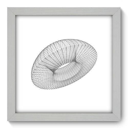 Quadro Decorativo - Abstrato - N1136 - 22cm X 22cm