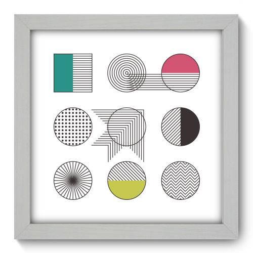 Quadro Decorativo - Abstrato - N1126 - 22cm X 22cm
