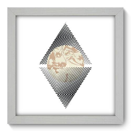 Quadro Decorativo - Abstrato - N1160 - 22cm X 22cm