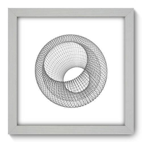 Quadro Decorativo - Abstrato - N1137 - 22cm X 22cm