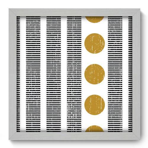 Quadro Decorativo - Abstrato - N2119 - 33cm X 33cm