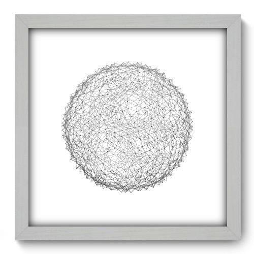 Quadro Decorativo - Abstrato - N2140 - 33cm X 33cm