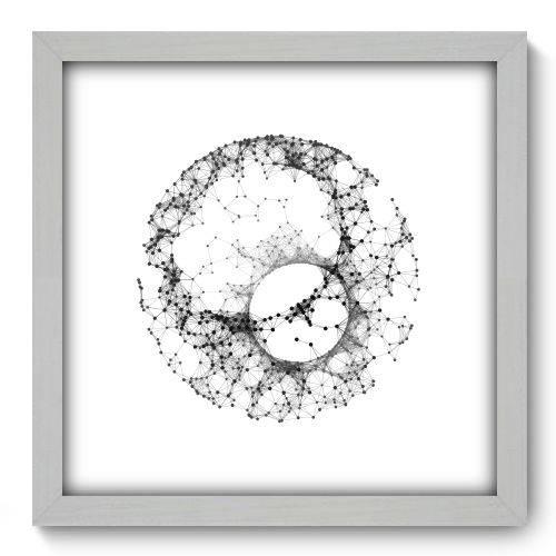 Quadro Decorativo - Abstrato - N2147 - 33cm X 33cm